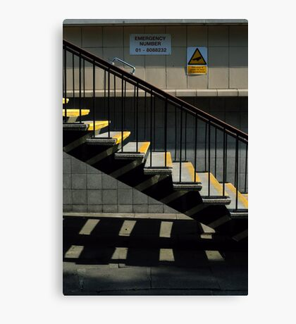 Step This Way Canvas Print