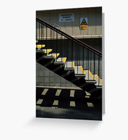Step This Way Greeting Card