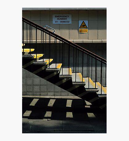 Step This Way Photographic Print