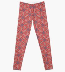 Summer Splash - Coral Leggings