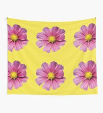 Fun and pink and yellow Wall Tapestry