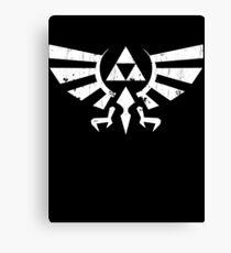 Triforce Crest - Legend of Zelda Canvas Print