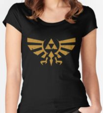 Triforce Crest - Legend of Zelda Women's Fitted Scoop T-Shirt