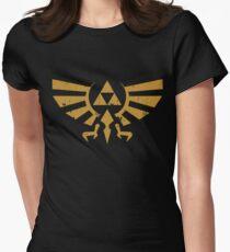 Triforce Crest - Legend of Zelda Women's Fitted T-Shirt
