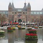 Tulips in Amsterdam by Elena Skvortsova