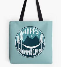 Happy Hammocker - Nature Night Blue Tote Bag