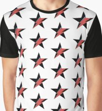 David Bowie Muster Grafik T-Shirt
