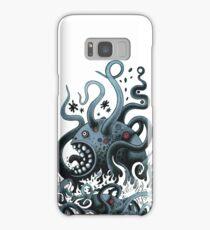 Octoworm (blue version) Samsung Galaxy Case/Skin
