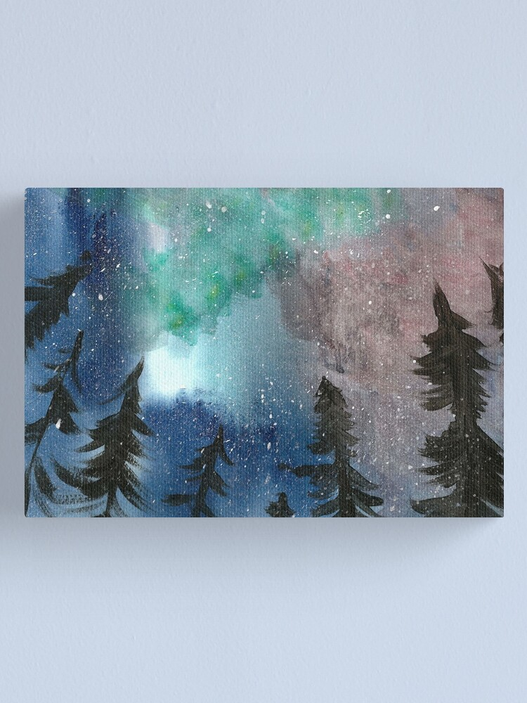 Alternate view of Northern Lights Canvas Print