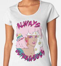 Jem and the Holograms Outrageous t-shirt 80s Cartoons Women's Premium T-Shirt