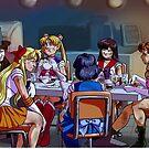 Sailor Senshi Shawarma Special by Alex Heberling
