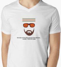 """The Royal Tenenbaums"" Richie Tenenbaum Tennis Match Men's V-Neck T-Shirt"