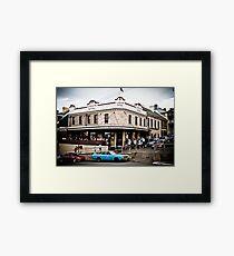 London Hotel Framed Print