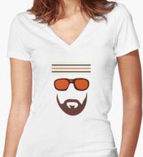 """The Royal Tenenbaums"" Richie Tenenbaum Women's Fitted V-Neck T-Shirt"