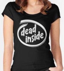 Camiseta entallada de cuello redondo Intel Dead Inside