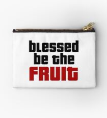 Blessed Be The Fruit Handmaid's Tale Feminism T-Shirts Studio Pouch