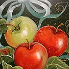 Apples and Ribbons by Cathy Amendola