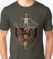 KGB Badge Unisex T-Shirt