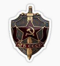 KGB Badge Sticker