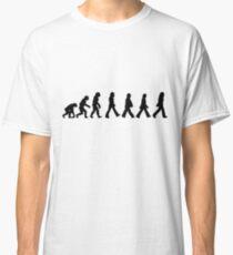 Human Evolution (The Beatles) Classic T-Shirt