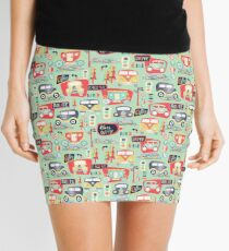 Travel Back in Time Mini Skirt