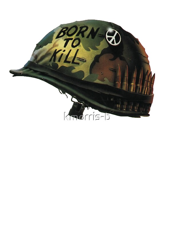 Quot Full Metal Jacket Logo Quot Stickers By Kmorris B Redbubble