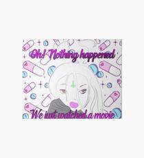 Nothing happened <3 Art Board