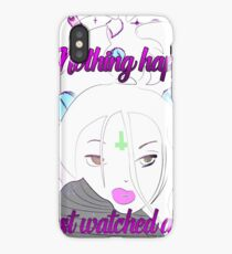 Nothing happened <3 iPhone Case
