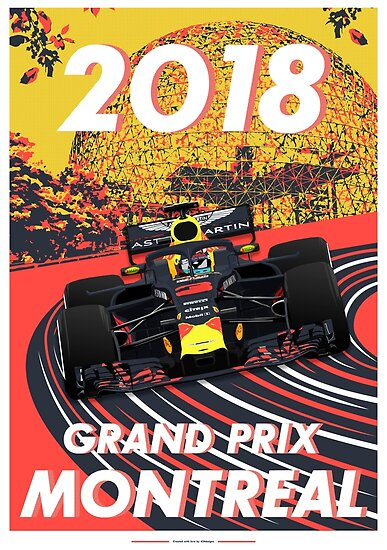 Montreal Grand Prix 2018 von ICRDesigns