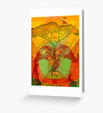 Afrique Greeting Card