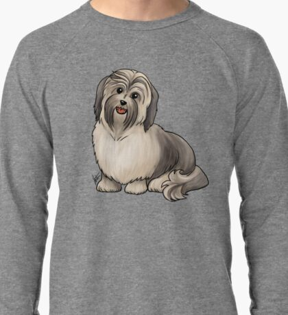 Havanese Dog Lightweight Sweatshirt