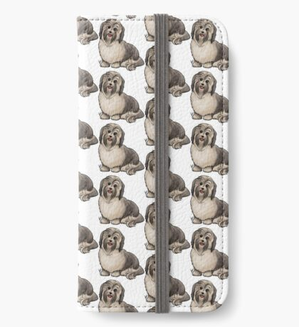 Havanese Dog iPhone Wallet