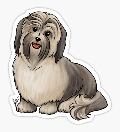Havanese Dog Sticker