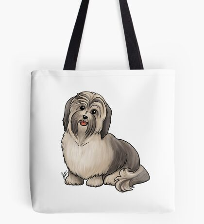 Havanese Dog Tote Bag