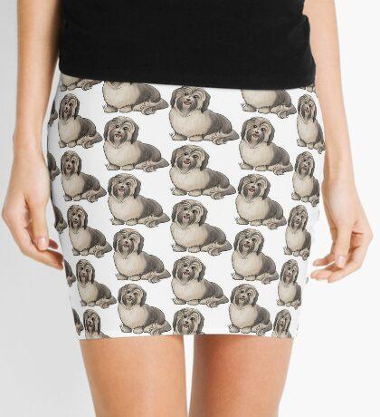 Havanese Dog Mini Skirt