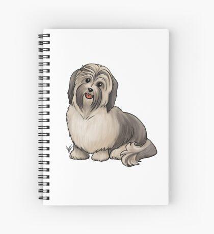 Havanese Dog Spiral Notebook