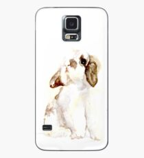 White & Brown Holland Lop Rabbit Case/Skin for Samsung Galaxy