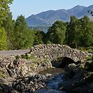 Ashness Bridge and Skiddaw by derekbeattie