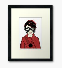 Mike-Ro-Wave Framed Print
