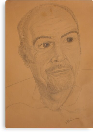 Connery... Sean Connery by Sophia Spencer
