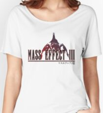 Mass Effect 3 - In the Style of Final Fantasy Women's Relaxed Fit T-Shirt