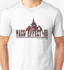 Mass Effect 3 - In the Style of Final Fantasy Unisex T-Shirt