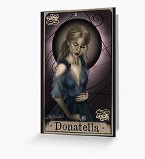Donatella Greeting Card