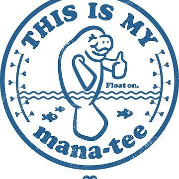 Manatee Tshirt by chillandserve