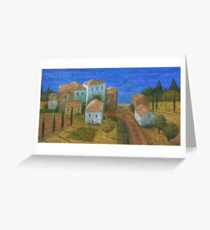 Pueblo Andaluz Greeting Card