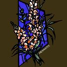 Stained glass snapdragons by resonanteye