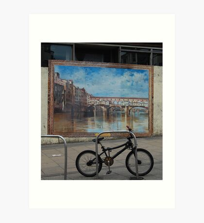 To Brighten our streets. Art Print
