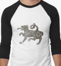 Celtic Lion Tee Men's Baseball ¾ T-Shirt
