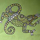 Jackson Chameleon by Lynnette Shelley