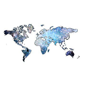Map by parakeetart
